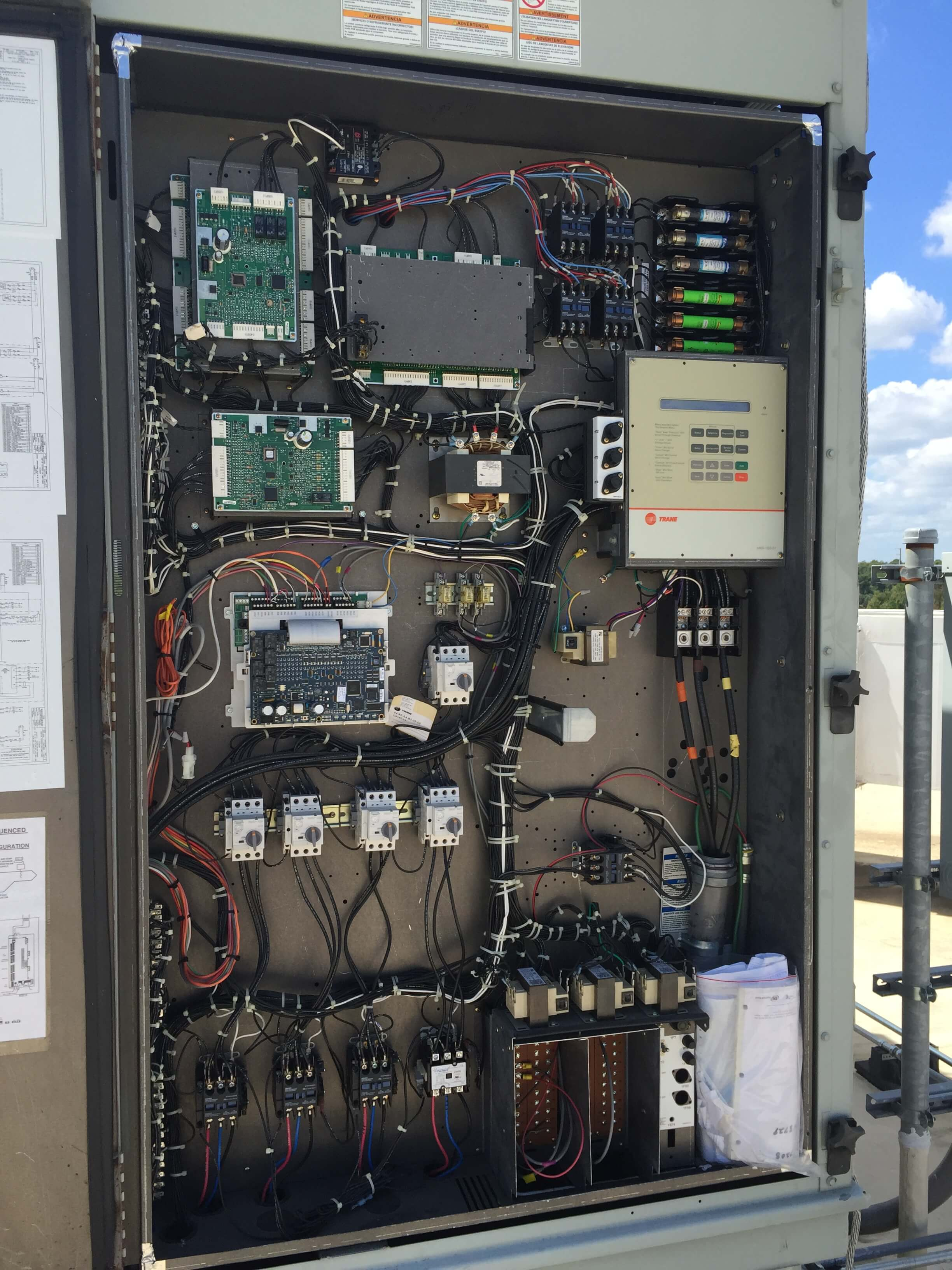 Clayton Mechanical A Division Of Air And Heating Wiring For Hvac Control Systems Projects